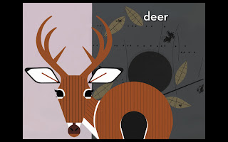 peekaboo+forest Hide and seek with Charley Harper