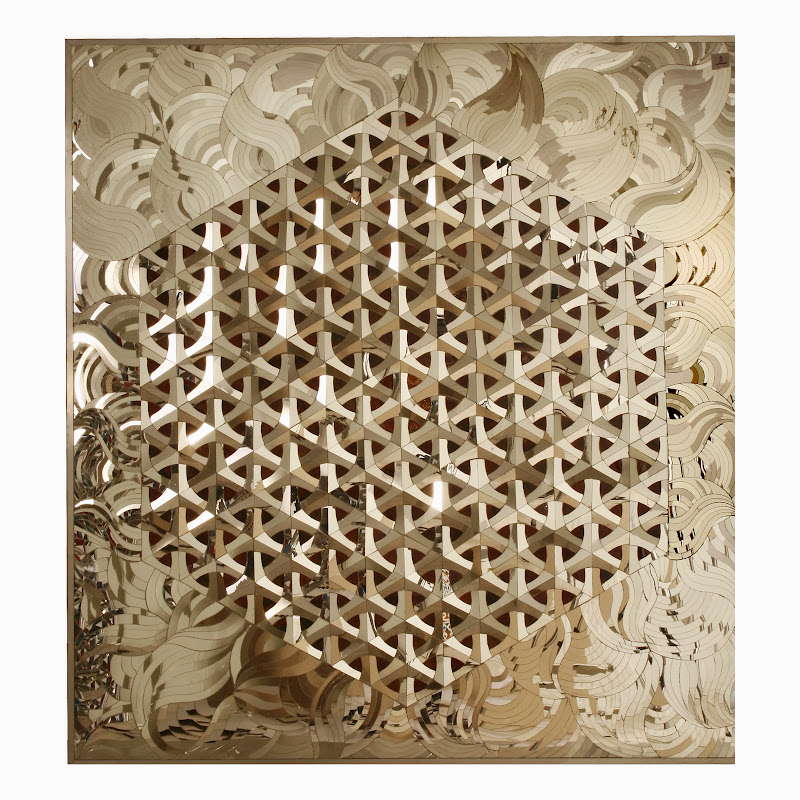 Cosmic Geometry : Monir Shahroudy Farmanfarmaian