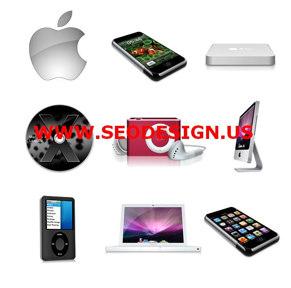 Free Apple Products Web Icons