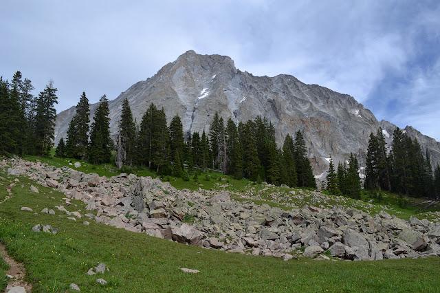 Capitol Peak has some steep cliffs