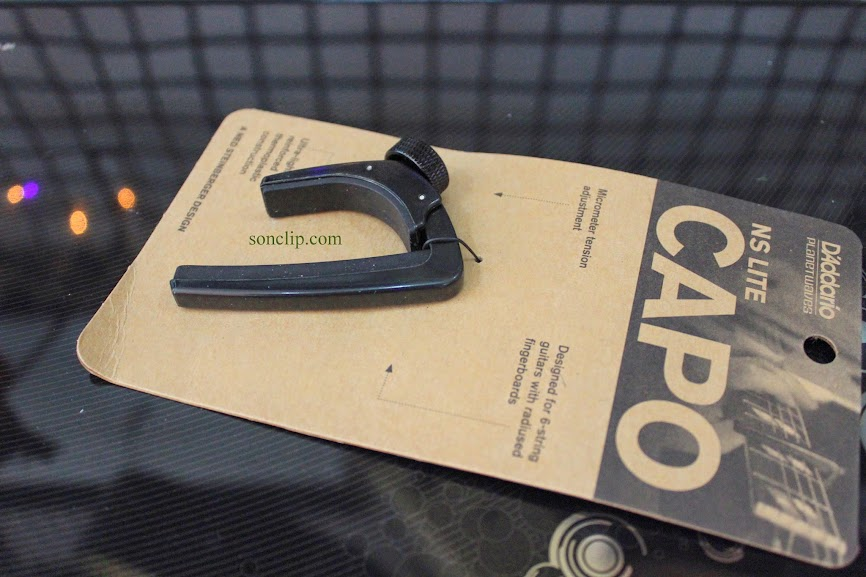 Capo Guitar - Planet Waves NS Capo Lite