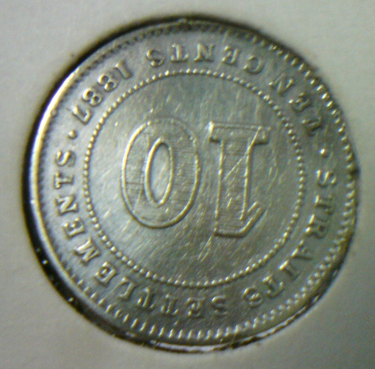 711collectionstore 10 Cents Queen Victoria Straits