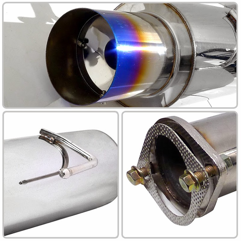 02-06 Acura RSX Base Model T-304 SS Catback Exhaust