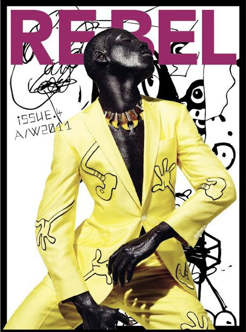 Tafari Hinds @ FM by Daniel Sannwald for Re-Bel Magazine #4.  Styled by Rob Meyers. | www.re-belmagazine.com