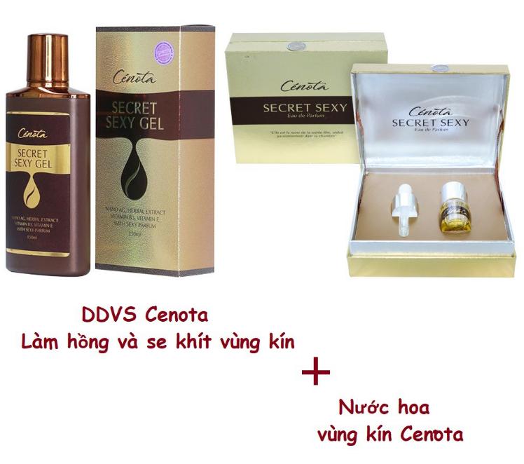 Dung dịch vệ sinh Cenota và nước hoa vùng kín Cenota