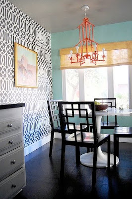 Walls wallpaper trends trellis - Trend wallpaper dining ...