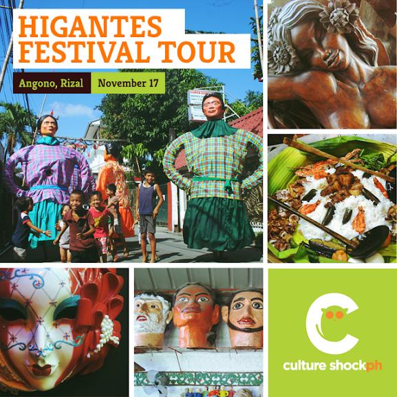 Higantes Festival Tour Angono Rizal