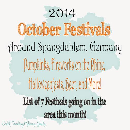 October Festivals Around Spangdahlem | World Traveling Military Family