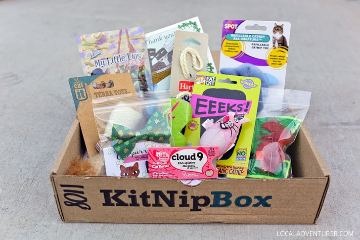 KitNipBox - Cat Treats in a Monthly Cat Subscription Box.