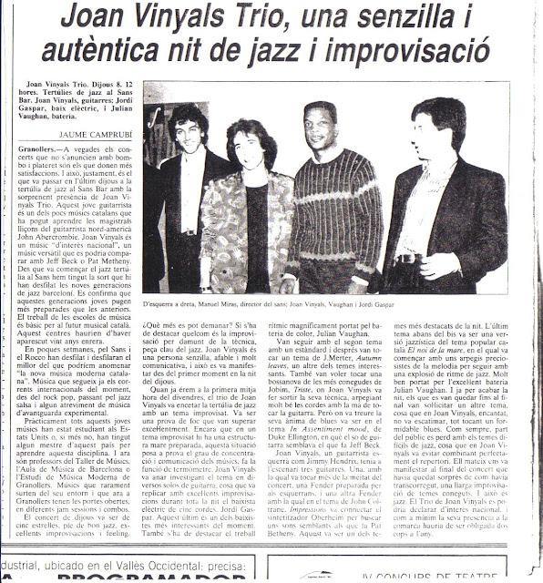 Joan Vinyals Trio