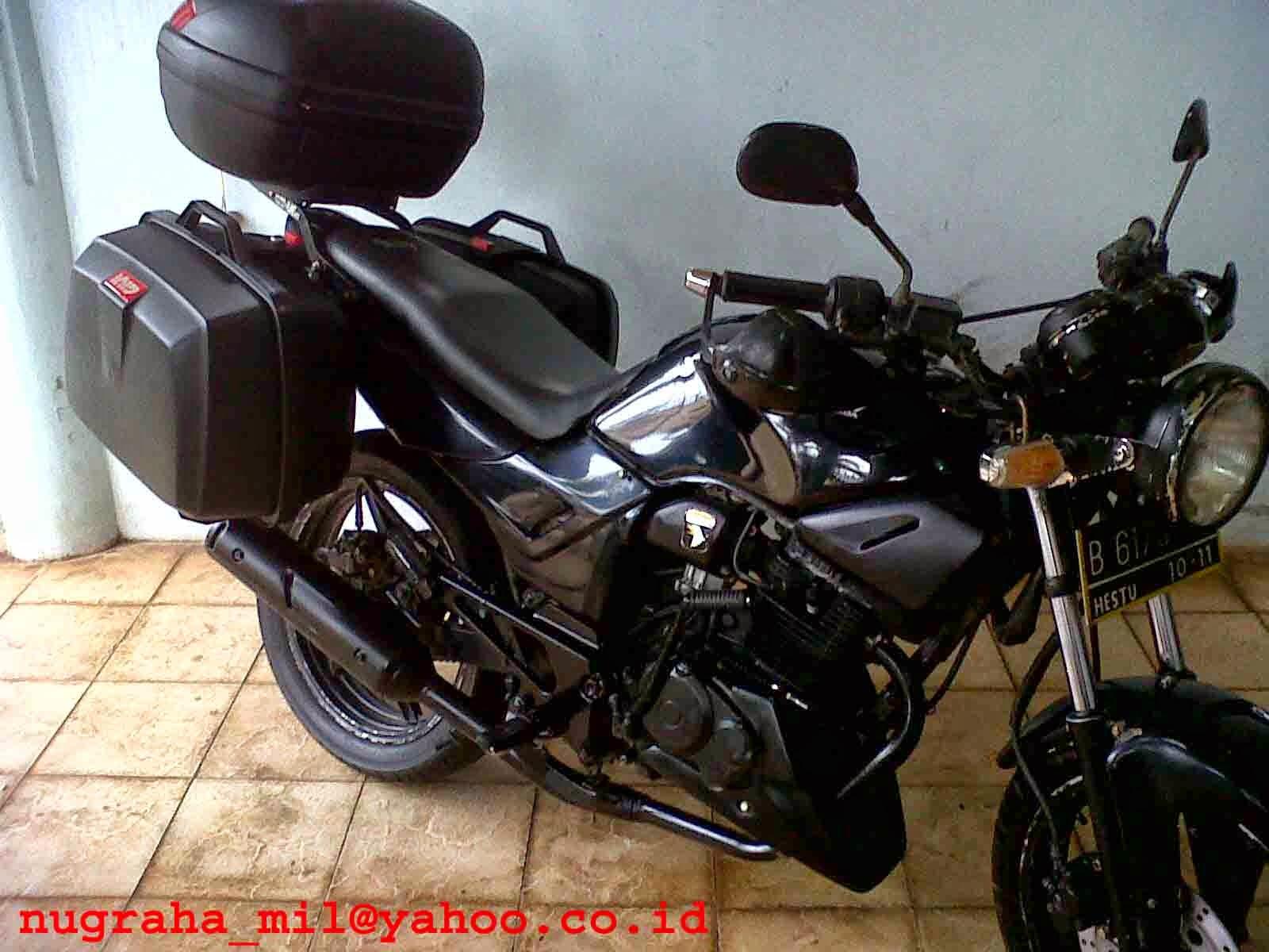 modifikasi motor tiger street fighter