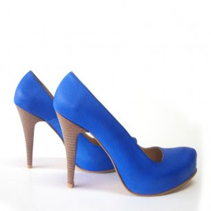 mavi ayakkabı modeli