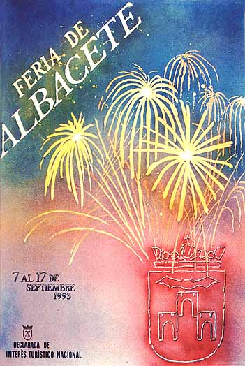 Cartel Feria Albacete 1993