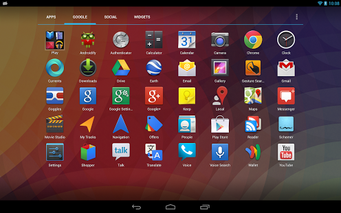 Apex Launcher Pro for Android