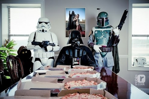 Come to the dark side. We have pizza!