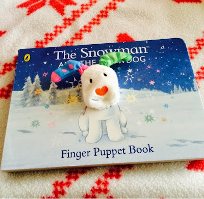 12 days of Christmas with the Snowman and the Snowdog blog tour - Snowdog Puppet Book