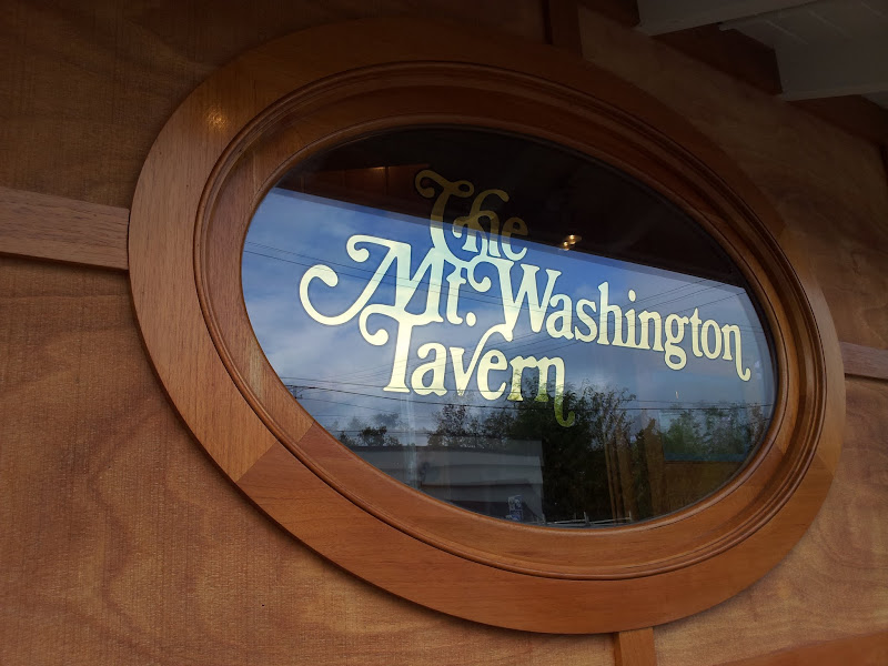 glass gilding - mt. washington tavern baltimore
