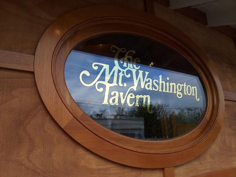 glass gilding - mt. washington tavern baltimore