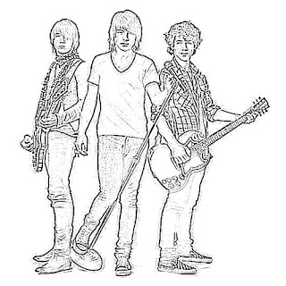 Jonas Brothers Sketch