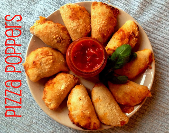 Pizza Popper Mini Calzones