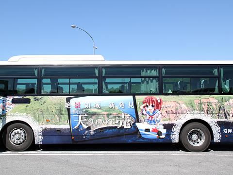 沿岸バス「特急はぼろ号」・392 左側「観音崎らいな」