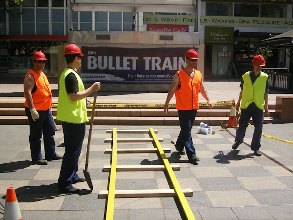 bullet train construction