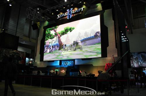 Gstar 2011: Toàn cảnh gian hàng Blizzard Entertainment 14