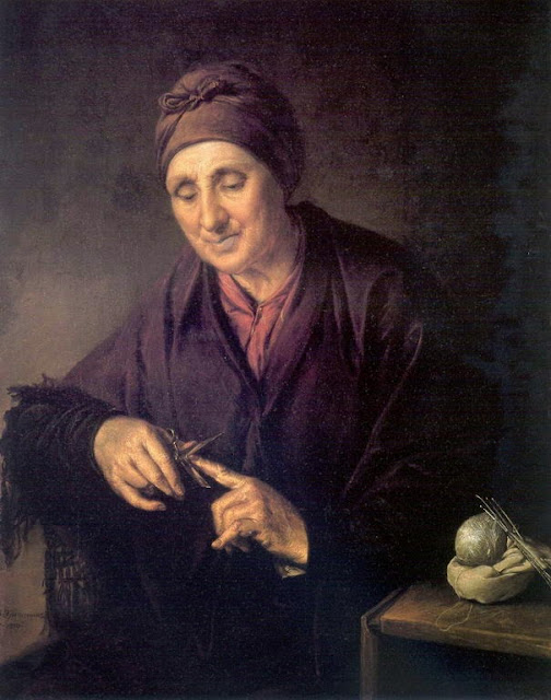 Vasily Tropinin - Ukrainian woman