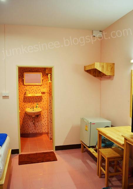 ภายในห้องพัก บ้านภูนารา