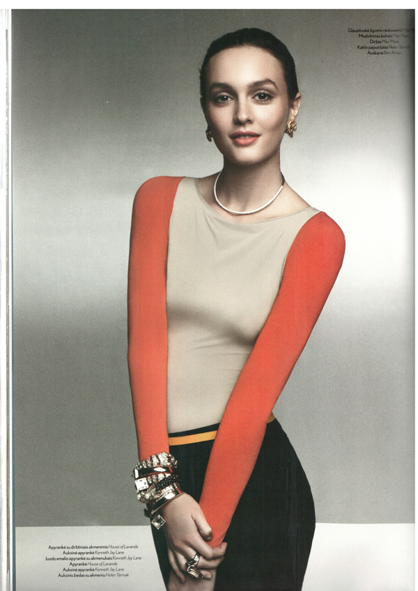 EDITORIAL: LEIGHTON MEESTER FOR L'OFFICIEL MARCH (LITUÂNIA)