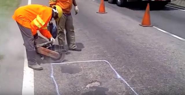 sử dụng bê tông nhựa nguội