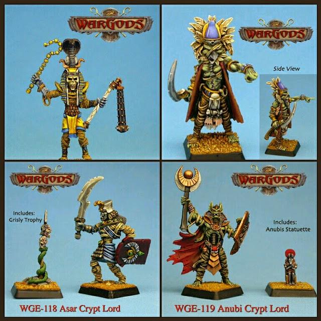 personajes undeads de WarGods