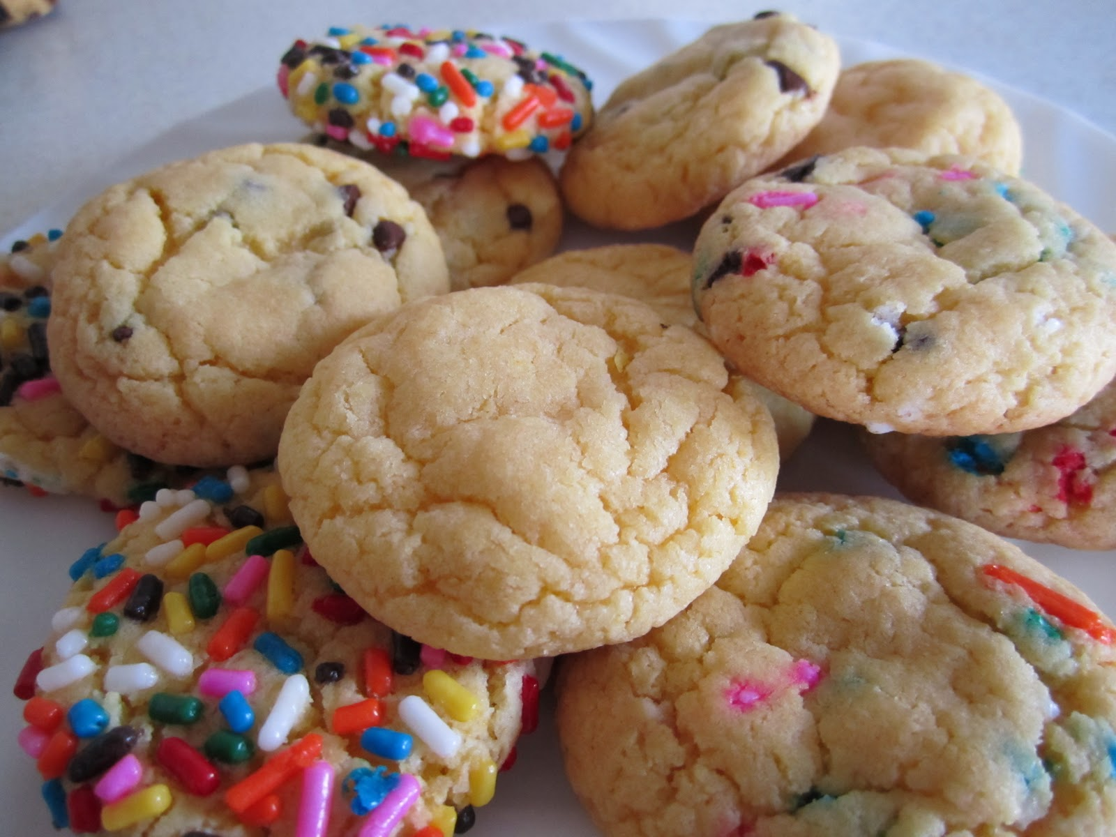 cake mix cookies source mcconkie menu 1 cake mix box 1 3 cup vegetable ...