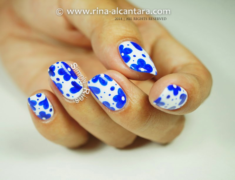 Nail Art Tutorial: Looks Like Porcelain