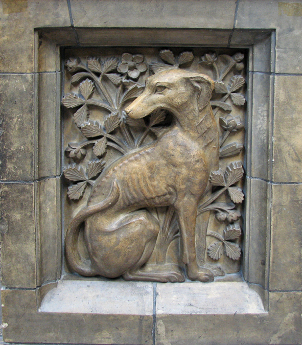 Greyhound in Stone