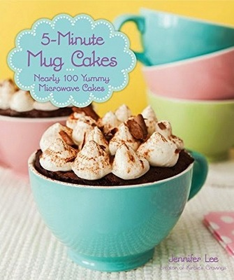 5-Minute Mug Cakes cookbook cover