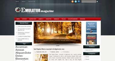 Free Wordpress Theme - Emulator