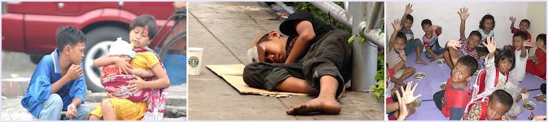 Fakir Miskin dan Anak Terlantar di Indonesia