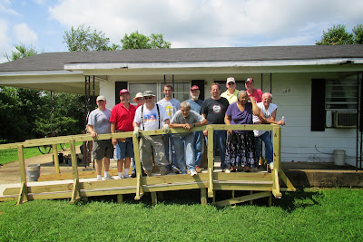 Wheelchair Ramp Build, 13 Jul 2013