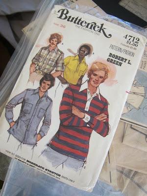 Male Pattern Boldness Weekend Knit Shirt Drama