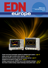 EDN Europe 05/2014 cover