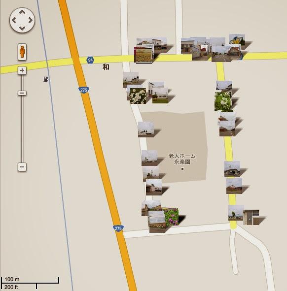 和本町町内会の地図