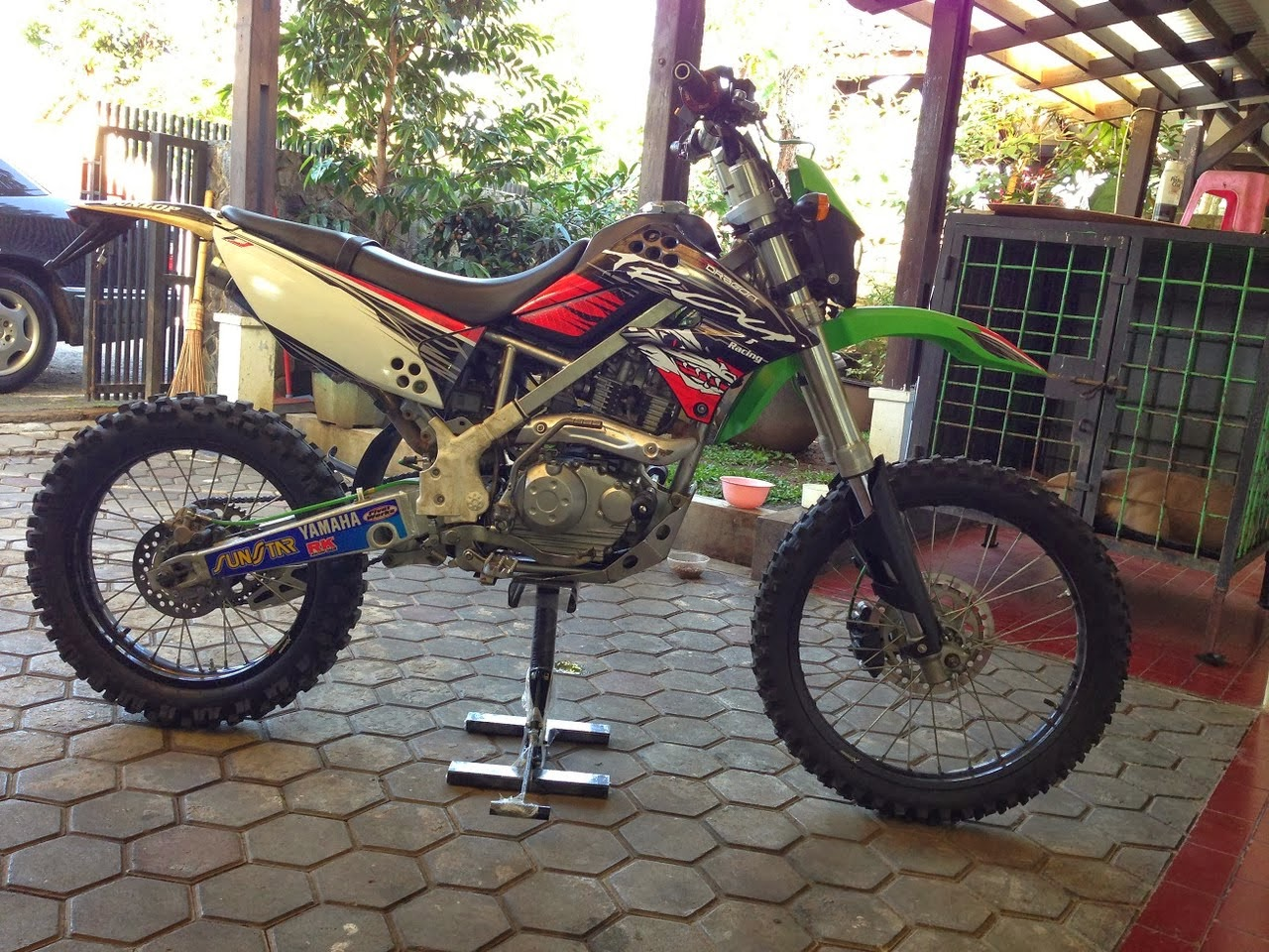 Modifikasi Kawasaki Trail Klx 250 Klx 150 Modifikasi Trail