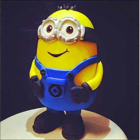 Making Minion Cake Toppers