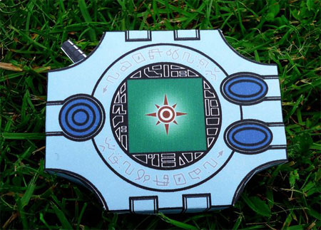 Digimon Adventure Digivice Papercraft