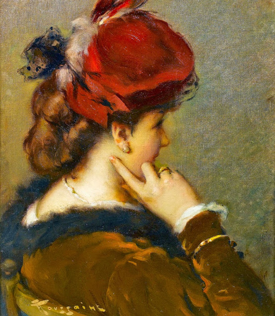 Fernand Toussaint - The Red Hat