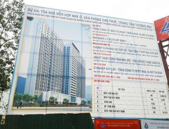 Dự án chung cư 60 Hoàng Quốc Việt