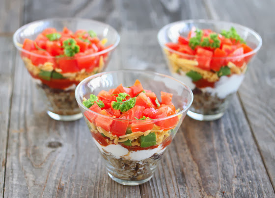photo of 3 Healthy 7 Layer Rice Bowls