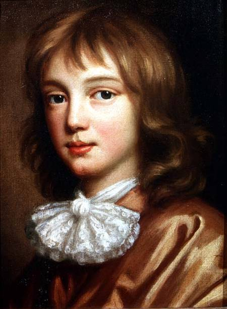 Mary Beale - Portrait of the artist's son