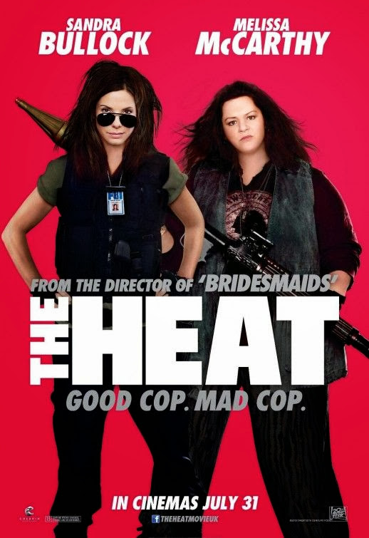 Poster Of English Movie The Heat (2013) Free Download Full New Hollywood Movie Watch Online At Alldownloads4u.Com